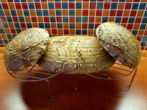 Žitný chléb s kváskem pečený v troubě - recept #3